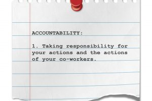Accountability – Getting It Done